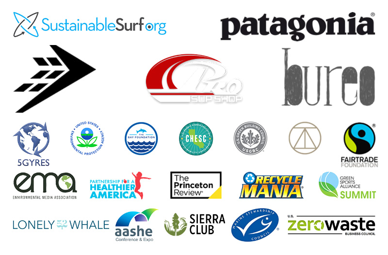 Logos from various affiliated organizations
